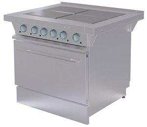 Кухонная плита с духовым шкафом